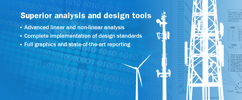 Tower Numerics Tower Analysis And Design Software